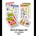 2019 E-VAPOR KIT - Age 21