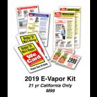 2019 E-VAPOR KIT - Age 21 California Only