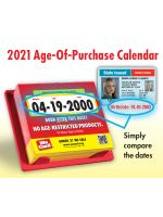 2021 Age of Purchase Calendar - All Restricted Products - 21 Year