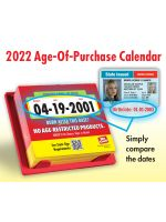2022 Age of Purchase Calendar - All Restricted Products - 21 Year