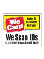 We Scan IDs 3x4 Sticker - ALL CUSTOMERS