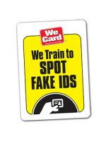 We Train to SPOT Fake IDs - Decal