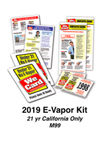 2019 E-VAPOR KIT - Age 21 California Only