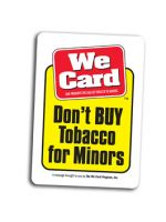 Don't BUY Tobacco for Minors - Decal