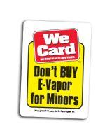Don't BUY E-Vapor for Minors