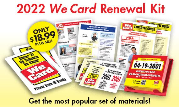 2022 We Card Renewal Kit